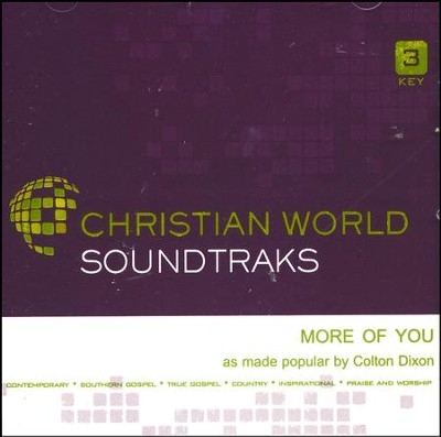 More of You, Accompaniment CD   -     By: Colton Dixon