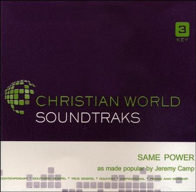 Same Power, Accompaniment CD   -     By: Jeremy Camp