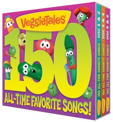 150 All-Time Favorite Veggietunes   -