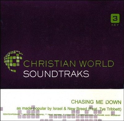 Chasing Me Down, Accompaniment CD   -     By: Israel & New Breed