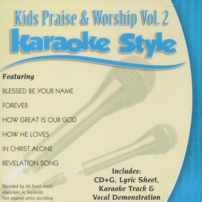 Kids Praise & Worship, Vol  2, Karaoke CD