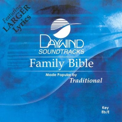 Family Bible, Accompaniment CD   -