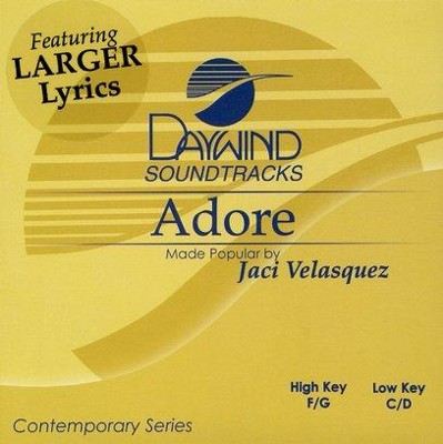 Adore, Accompaniment CD   -     By: Jaci Velasquez