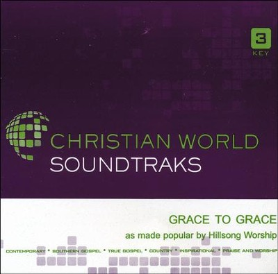 Grace To Grace, Accompaniment CD   -     By: Hillsong Worship