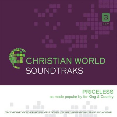 Priceless, Accompaniment CD   -     By: for KING & COUNTRY