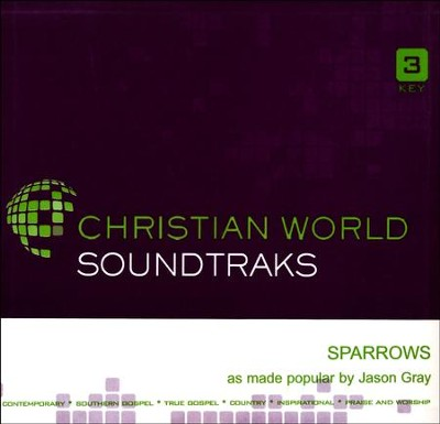 Sparrows, Accompaniment CD   -     By: Jason Gray