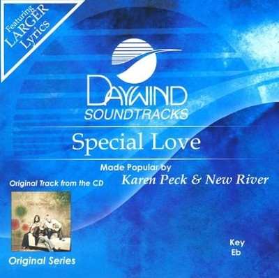 Special Love, Accompaniment CD   -     By: Karen Peck