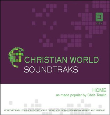 Home, Accompaniment CD   -     By: Chris Tomlin