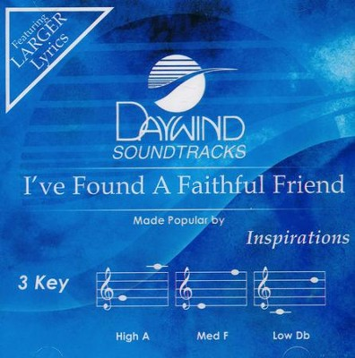 I've Found a Faithful Friend, Accompaniment CD   -     By: The Inspirations
