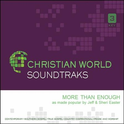 More Than Enough, Accompaniment CD   -     By: Jeff Easter, Sheri Easter