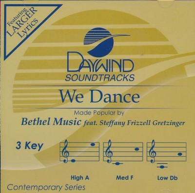 We Dance, Accompaniment CD   -     By: Bethel Music