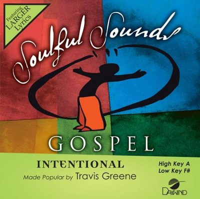 Intentional, Accompaniment CD   -     By: Travis Greene
