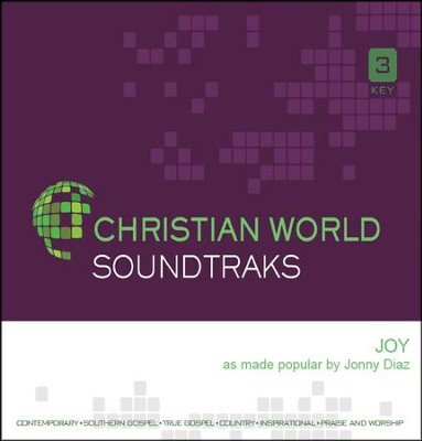 Joy, Accompaniment CD   -     By: Jonny Diaz