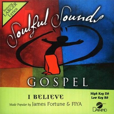 I Believe, Accompaniment CD   -     By: James Fortune