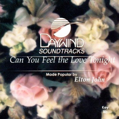 Can You Feel The Love Tonight, Accompaniment CD   -     By: Elton John