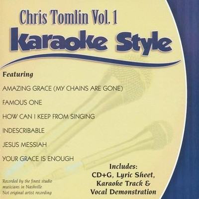 Chris Tomlin, Vol. 1, Karaoke CD   -