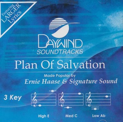 Plan Of Salvation, Accompaniment CD    -     By: Ernie Haase