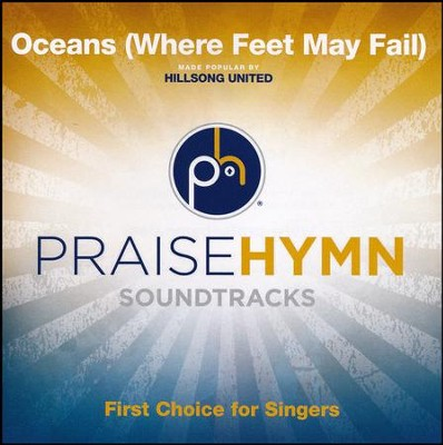 Oceans (Where Feet May Fail) Accompaniment CD   -     By: Hillsong United