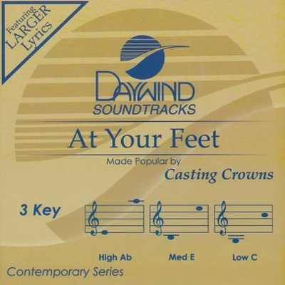 At Your Feet Accompaniment, CD  -     By: Casting Crowns