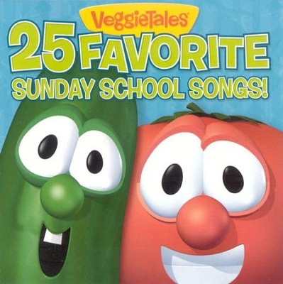 VeggieTales 25 Favorite Sunday School Songs CD   -