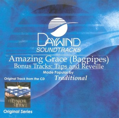Amazing Grace (Bagpipes), Accompaniment CD   -