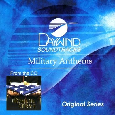 Military Anthems, Accompaniment CD   -
