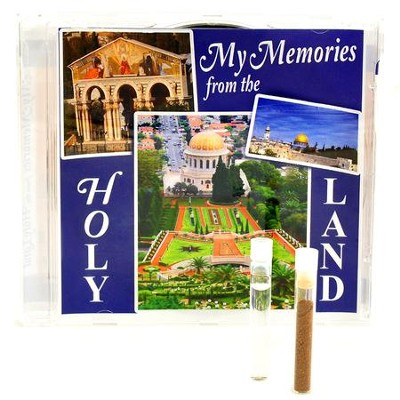My Memories from the Holy Land CD: Limited Edition, with Earth and Water from the Holy Land  -     By: David & The High Spirit