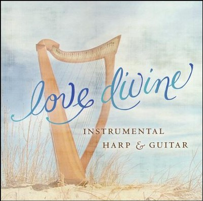 Love Divine - Instrumental Harp and Guitar  -
