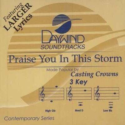 Praise You In The Storm, Accompaniment CD   -     By: Casting Crowns