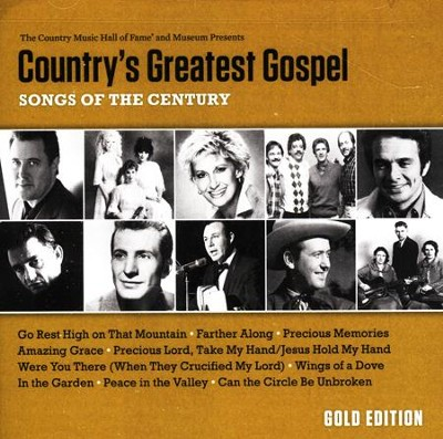 Country's Greatest Gospel: Songs of the Century Gold Edition CD  -