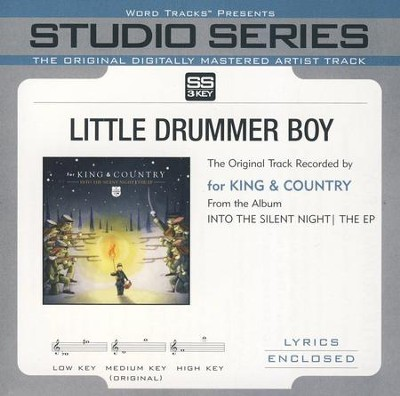 Little Drummer Boy Accompaniment, CD  -     By: for KING & COUNTRY