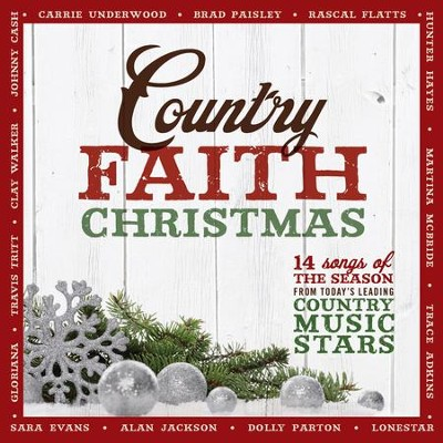 Country Faith Christmas   -     By: Various Artists