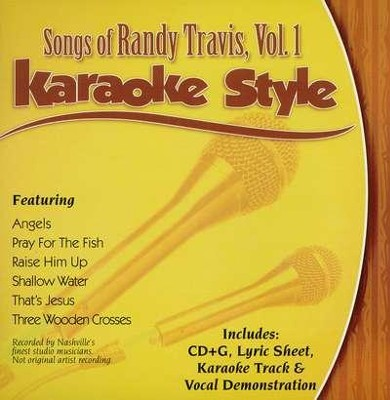 Randy Travis, Volume 1 Karaoke CD  -
