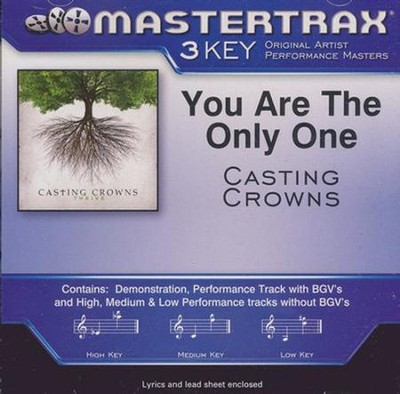 You Are the Only One Accompaniment, CD  -     By: Casting Crowns
