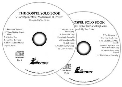 Gospel Solo Book, The, Split-Channel 2-CD Set  -     By: Tom Fettke