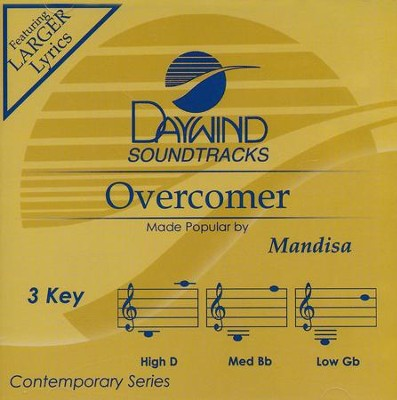 Overcomer, Accompaniment CD   -     By: Mandisa