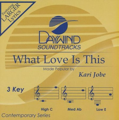 What Love is This, Accompaniment CD   -     By: Kari Jobe