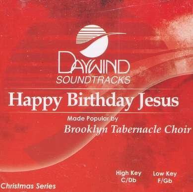 happy birthday jesus accompaniment cd by the brooklyn tabernacle choir - Brooklyn Tabernacle Christmas Show
