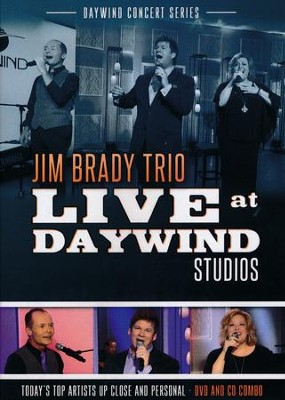 Jim Brady Trio Live at Daywind Studios CD/DVD    -     By: Jim Brady Trio