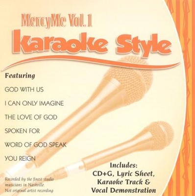 MercyMe, Vol. 1, Karaoke CD   -