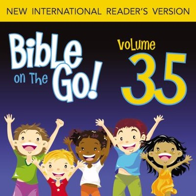 Bible on the Go Vol. 35: Baptism, Temptation, Disciples, and Miracles of Jesus (Matthew 3-4; Mark 1-2; John 1, 3; Luke 5-6) - Unabridged Audiobook  [Download] -