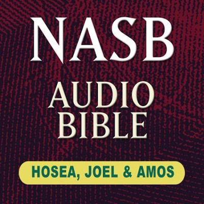 NASB Audio Bible: Hosea, Joel & Amos (Voice Only)  [Download] -     Narrated By: Stephen Johnston