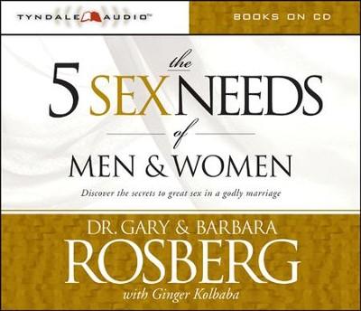 The 5 Sex Needs of Men & Women Audiobook [Download]