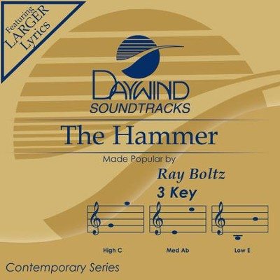 Hammer  [Music Download] -     By: Ray Boltz