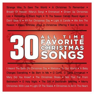 30 all time favorite christmas songs music download by various artists - Favorite Christmas Songs
