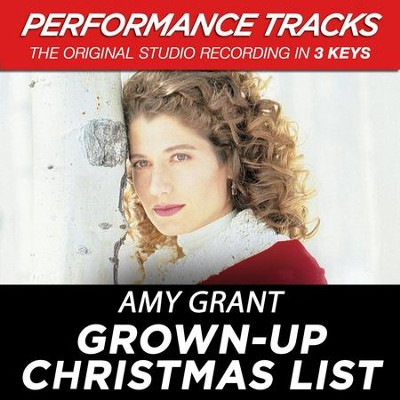 grown up christmas list music download by amy grant - Amy Grant Grown Up Christmas List