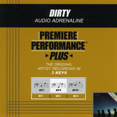 Dirty (Premiere Performance Plus Track)  [Music Download] -     By: Audio Adrenaline