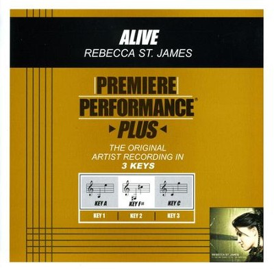 Alive (Premiere Performance Plus Track)  [Music Download] -     By: Rebecca St. James