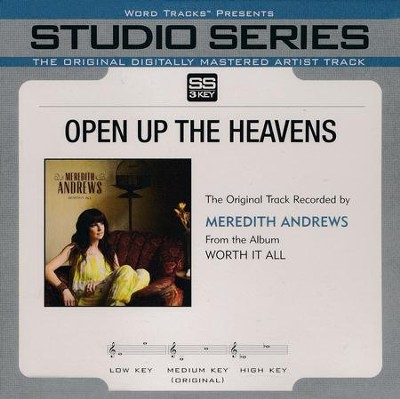 Open Up The Heavens, Acc CD   -     By: Meredith Andrews