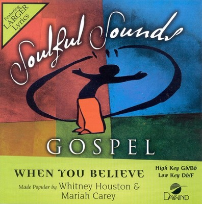 When You Believe, Accompaniment CD   -     By: Whitney Houston, Mariah Carey